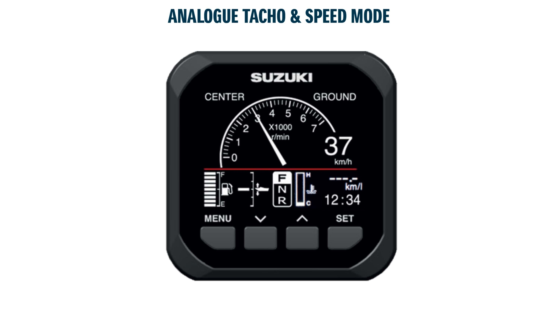 tacho speed mode