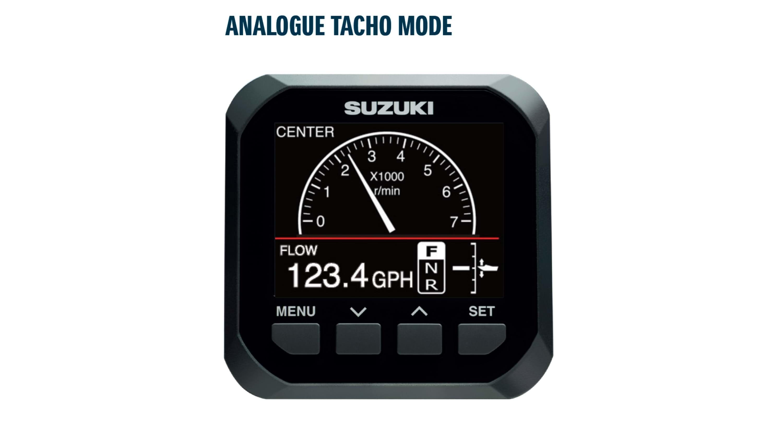 Tacho mode