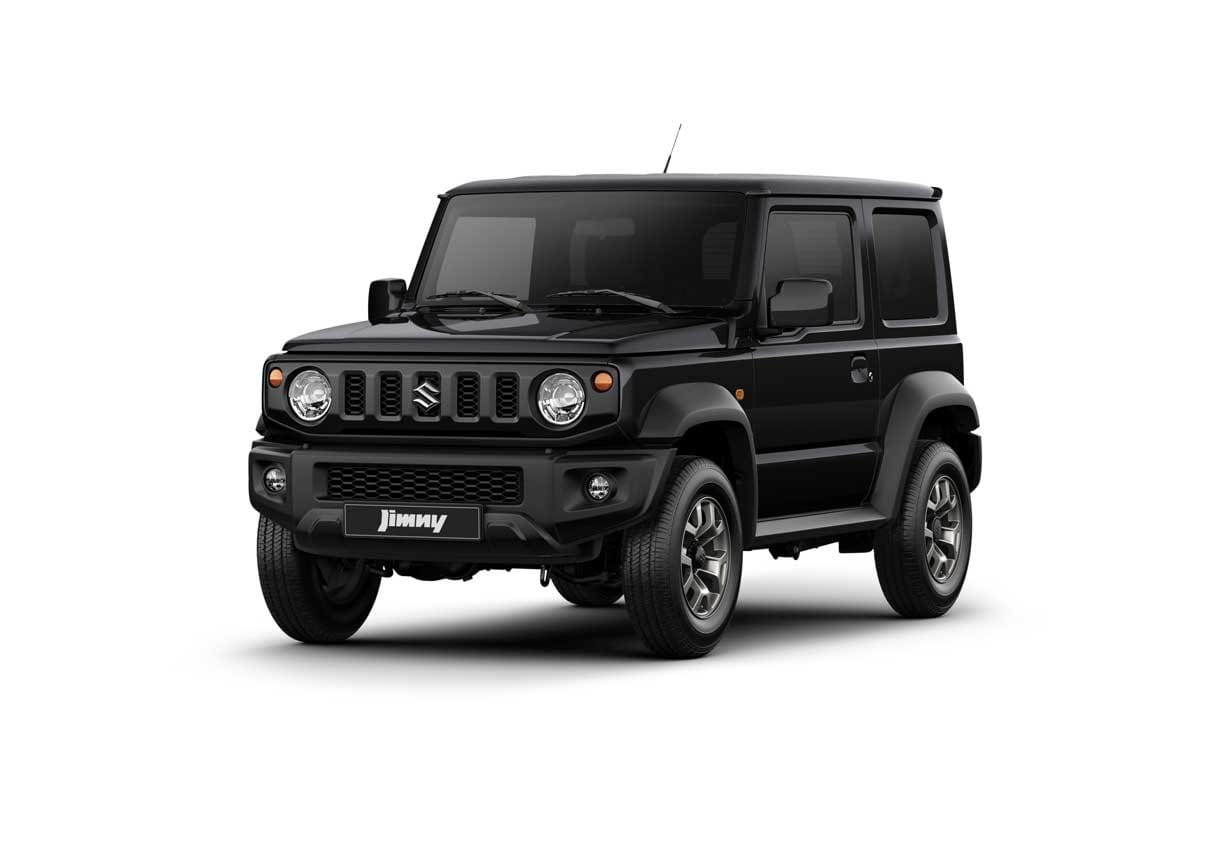 The Jimny in Blueish Black