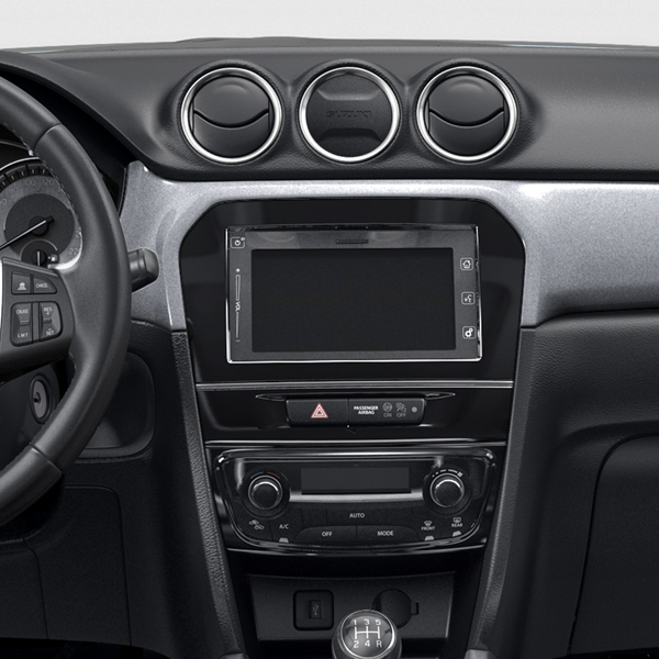 The Vitara SZ-T dashboard smart screen