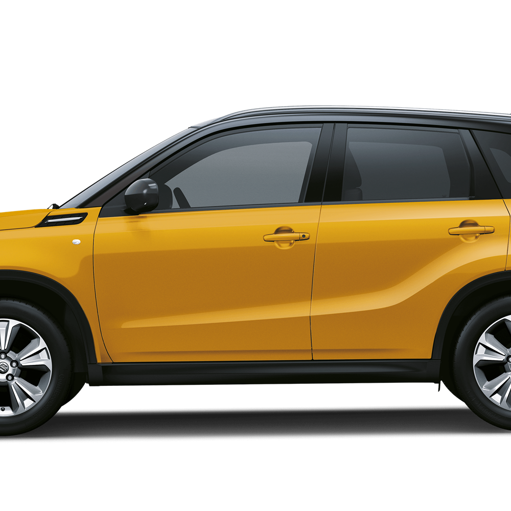 The Vitara SZ-T in Solar Yellow