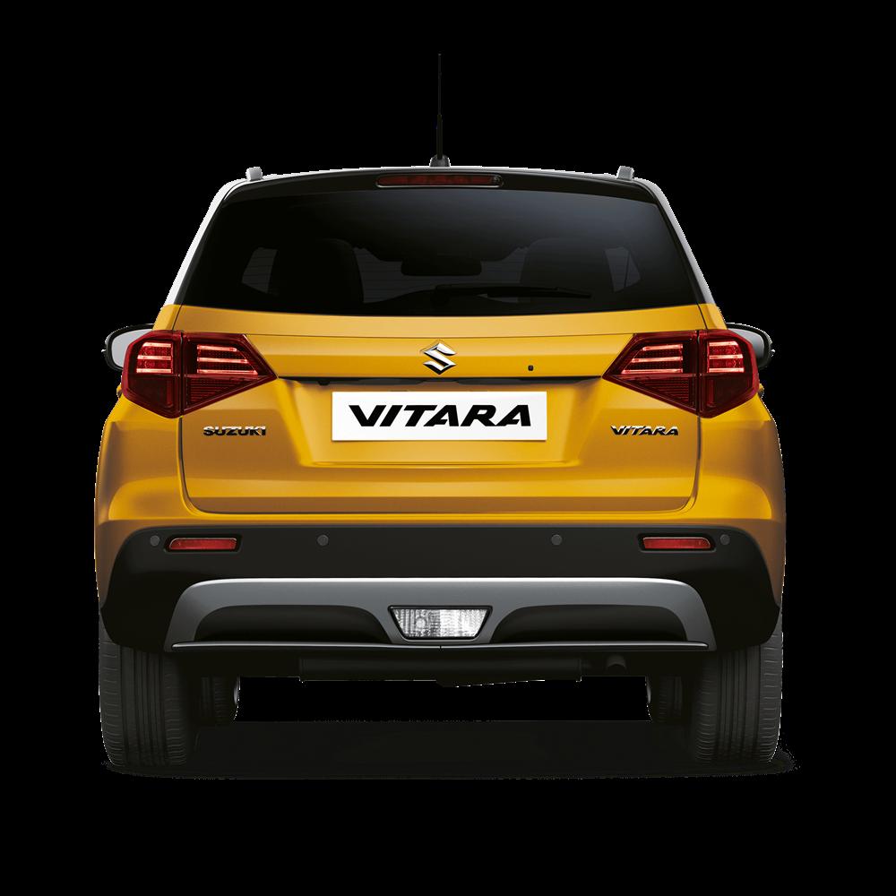 The Vitara SZ5 in Solar Yellow