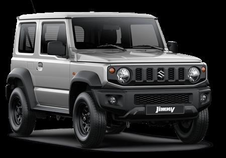 The Jimny SZ4 in Silky Silver