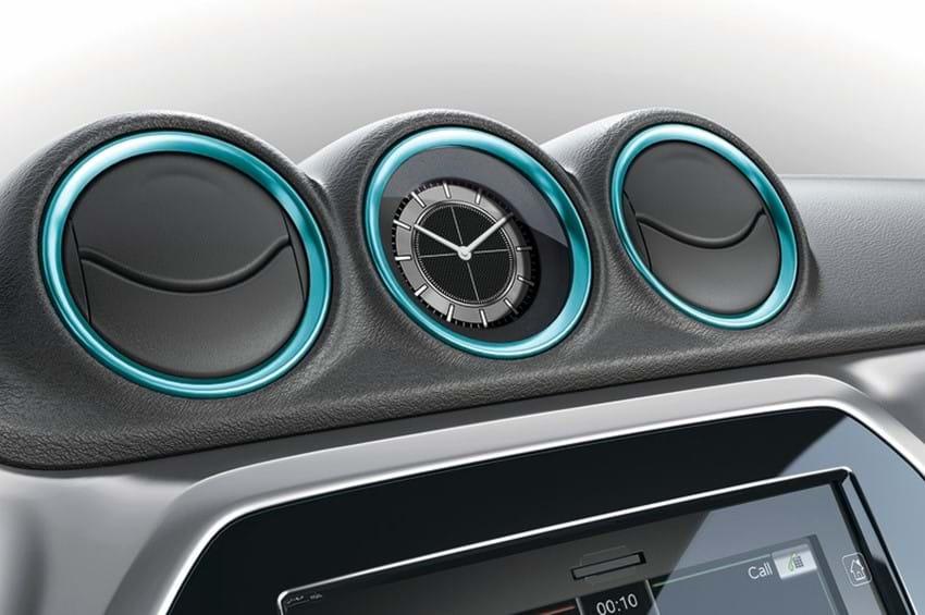 SZT dashboard clock blue