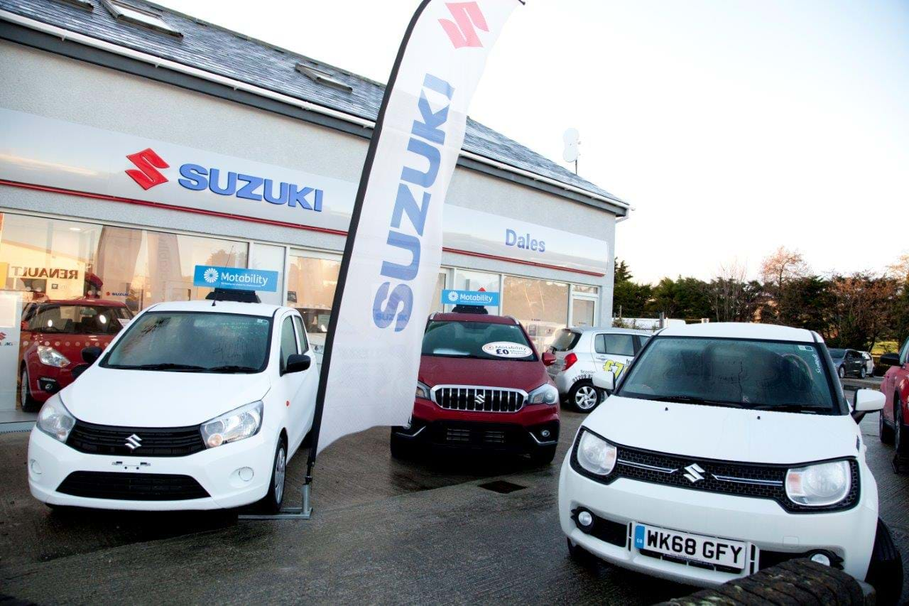 Suzuki Dealer cars