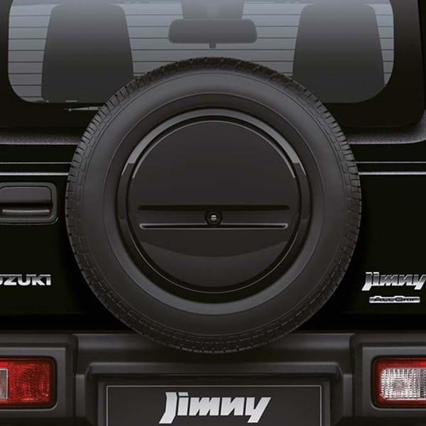 Jimny rear spare wheel