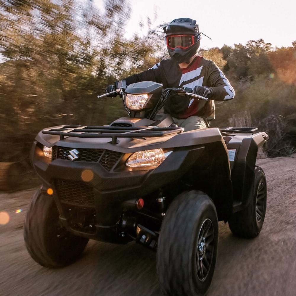 KINGQUAD 500 action image