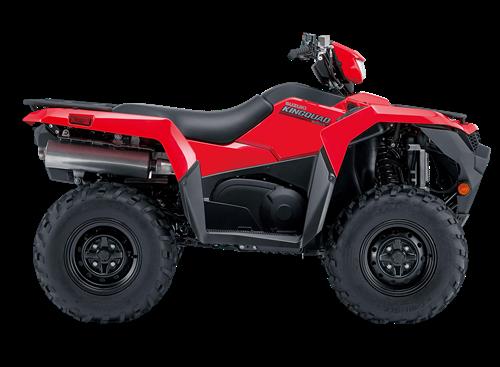 Suzuki KingQuad 500 red