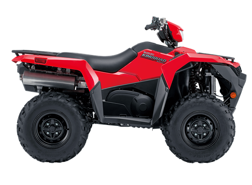 Suzuki KingQuad 500 red