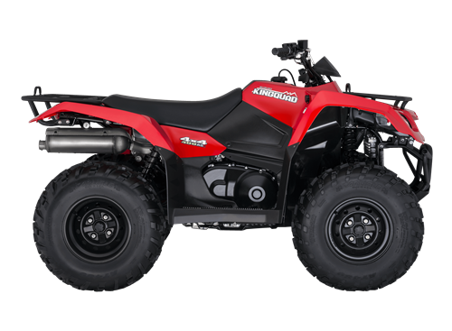 KingQuad 400 red facing right