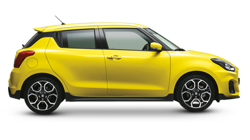 The Swift Sport in Champion Yellow