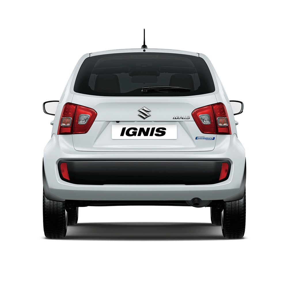 The Ignis SZ3 in Pure White Pearl