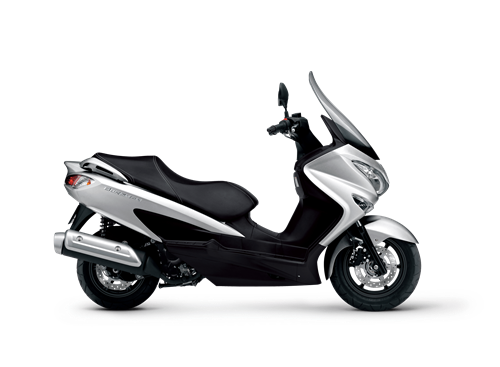 Suzuki Burgman 125 scooter, the stylish way to commute.