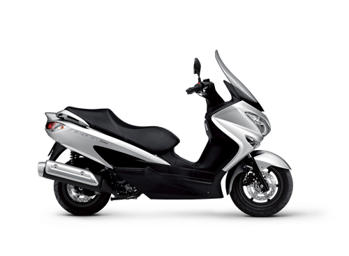 Suzuki Burgman 200 scooter. A great way to commute and beat the traffic.