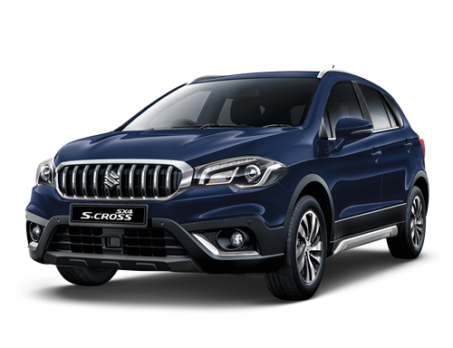 The S-Cross SX4 in Sphere Blue