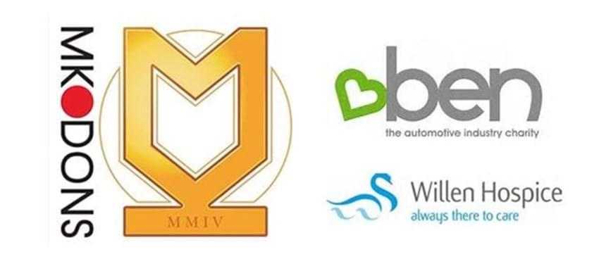 Three logos