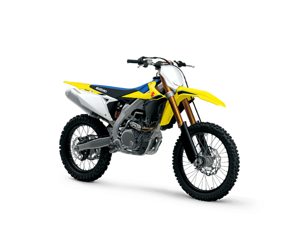 2020 Suzuki RM-Z450 front 3/4 angle image