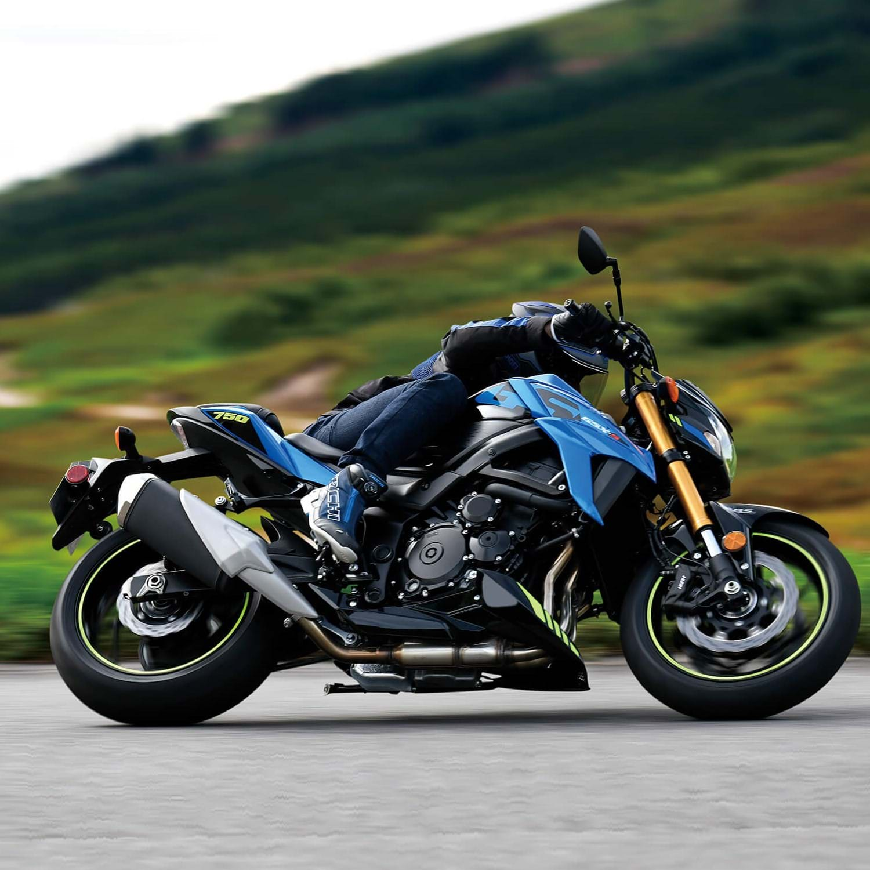 2020 Suzuki GSX-S750 Action Image