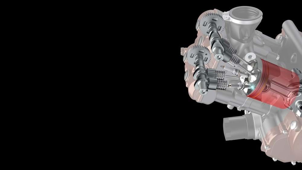Suzuki V-Strom 1050XT Dual Spark Engine
