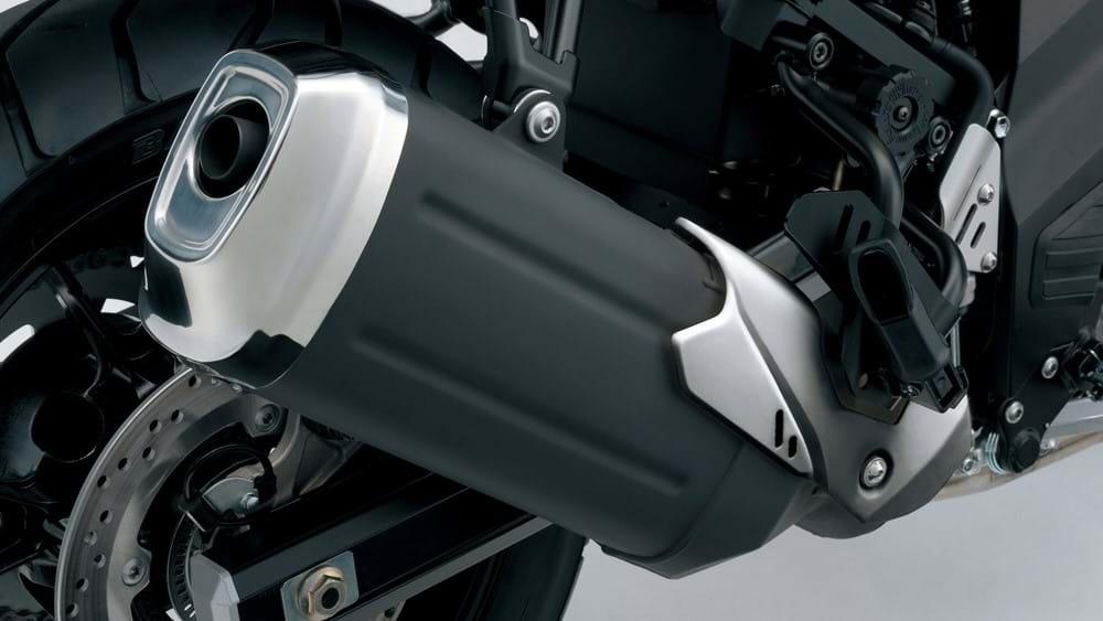 V-Strom 650XT Exhaust