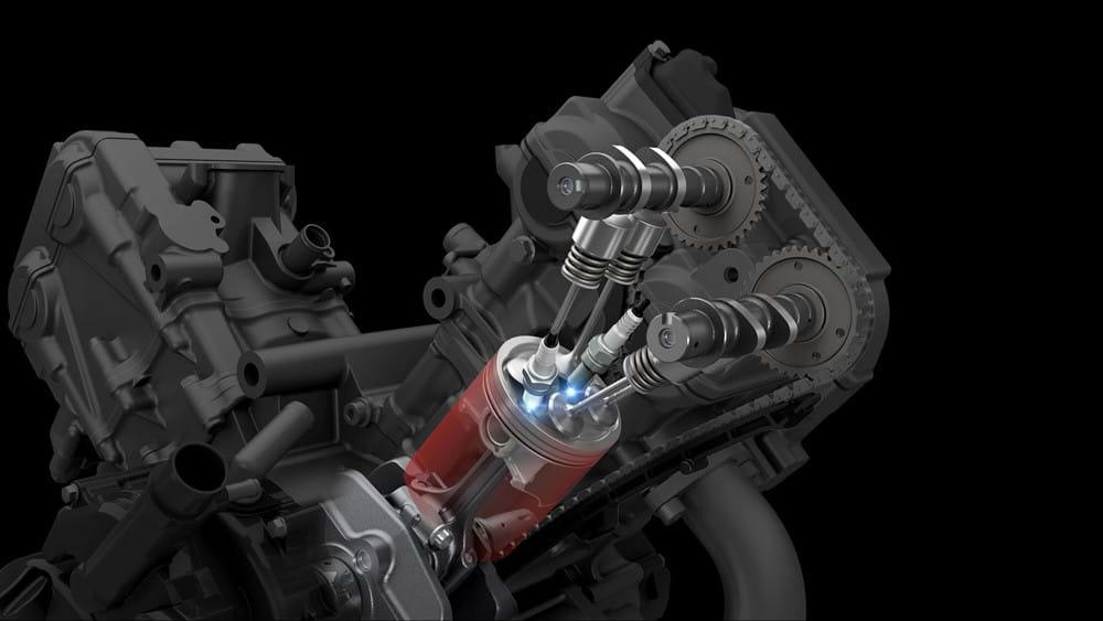 V-Strom 650XT Dual Spark Engine