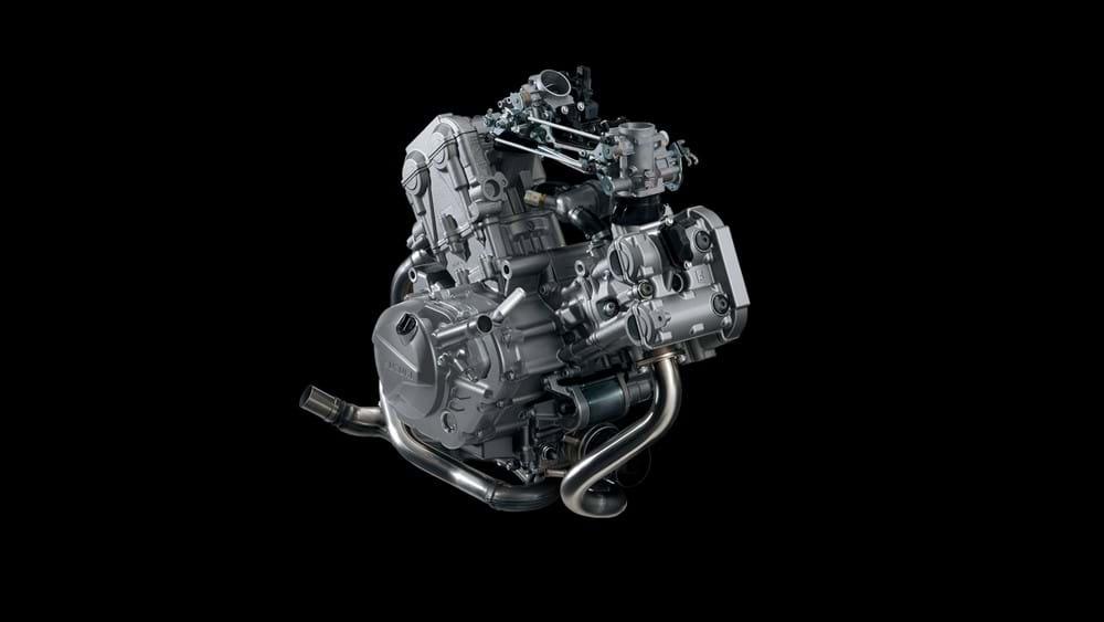 V-Strom 650XT Engine