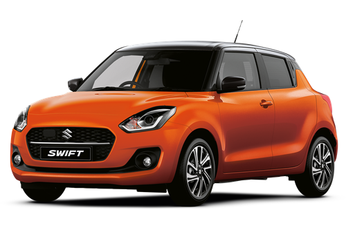 The New Suzuki Swift SZ5