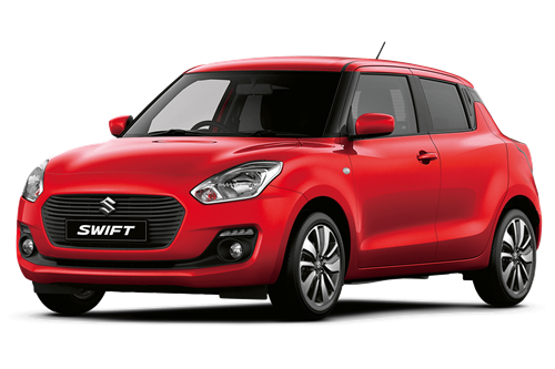 The Suzuki Swift SZ-T