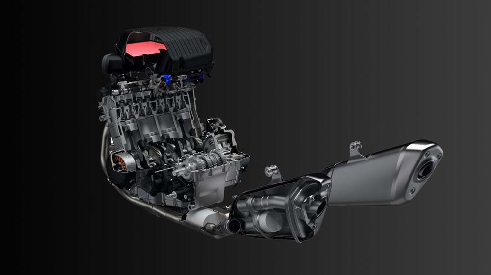 Hayabusa cutaway
