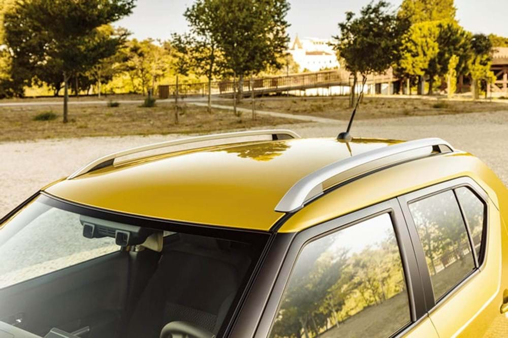 Yellow Ignis roof rack