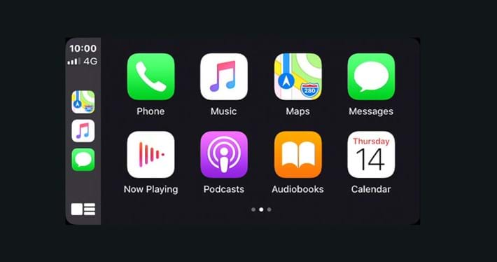 Smartphone link with Apple CarPlay & Android Auto