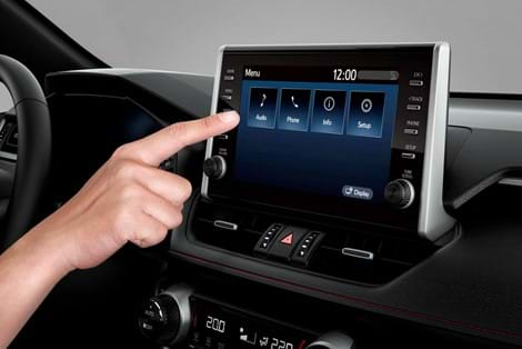 9-inch multimedia touchscreen