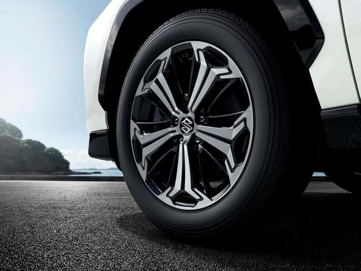 19 inch polished alloy wheels