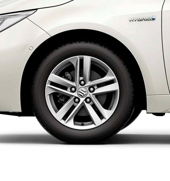 16-inch alloy wheels (polished finish)