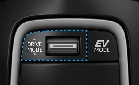 Three driving modes - Normal, Eco and Sport mode