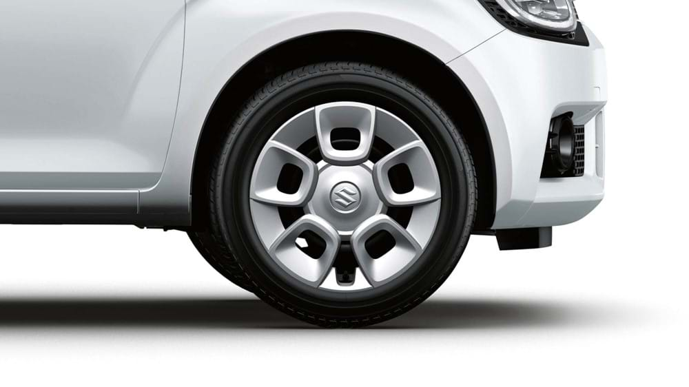 """15"""" steel wheels with covers"""