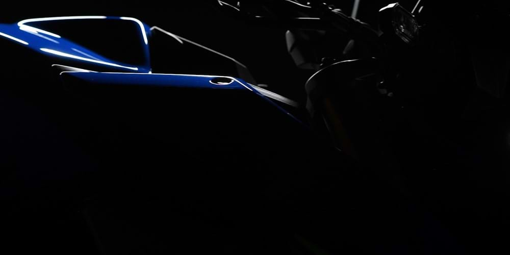 Teaser image of new Suzuki model