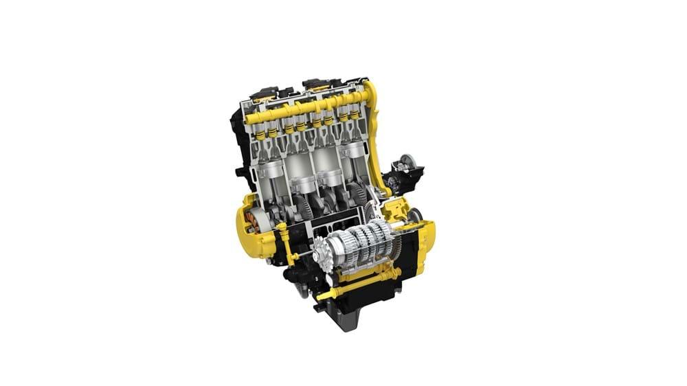 GSX-S1000 Engine Cutaway