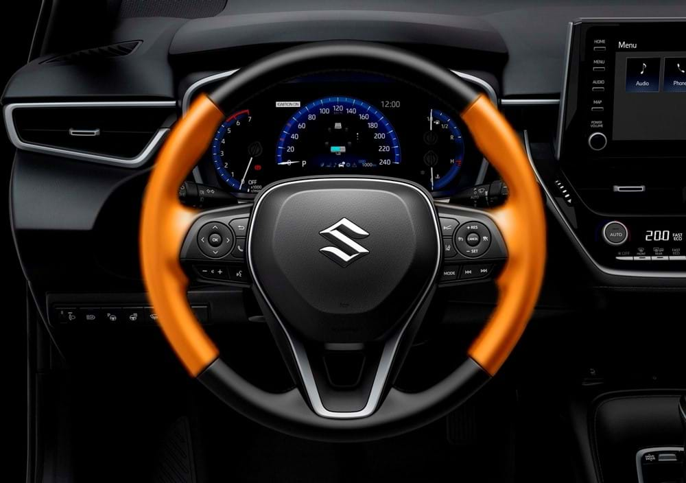 Heated steering wheel and front seats