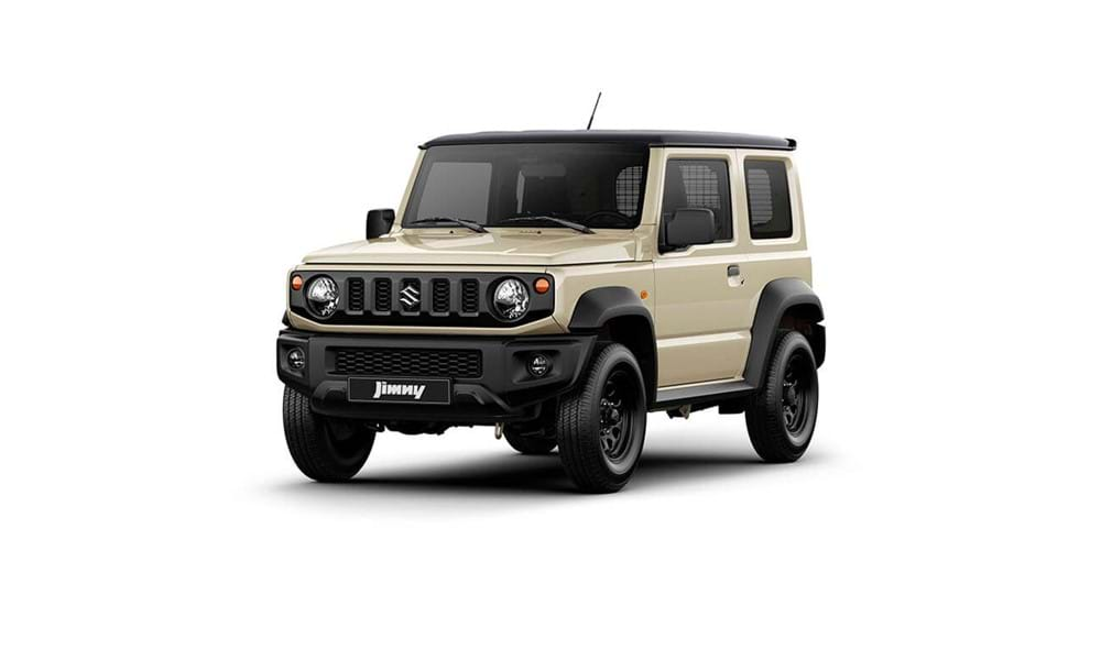 Suzuki Jimny in Ivory