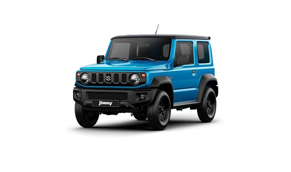 Suzuki Jimny in Brisk Blue