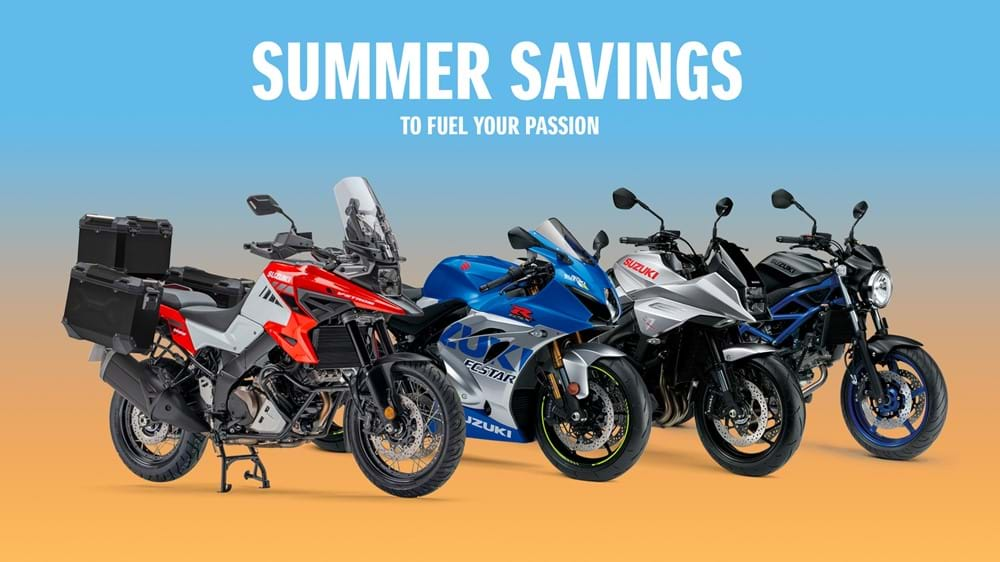 Q3 Summer Savings SV650 Offer Promo page banners