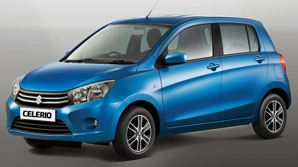 Front three-quarter facing Suzuki Celerio 5 doors