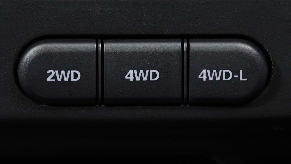 Suzuki Jimny selectable 4-wheel Drive system