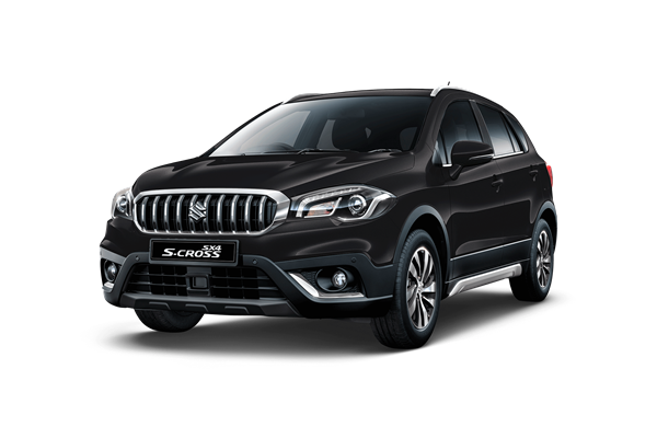 The SX4 S-Cross SZT in Cosmic Black