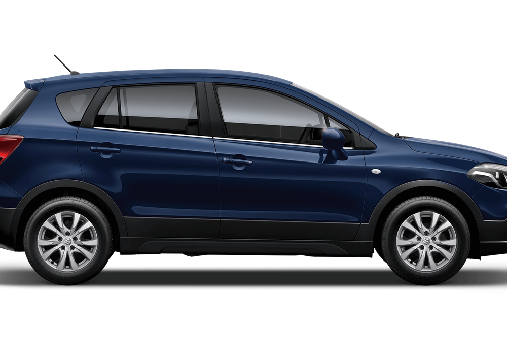 The SX4 S-Cross SZ4 in Sphere Blue