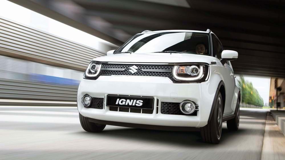 Side facing Suzuki Ignis