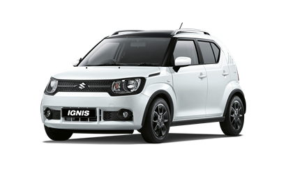 The Ignis SZ-T in Pure Pearl White with roof in Super Black