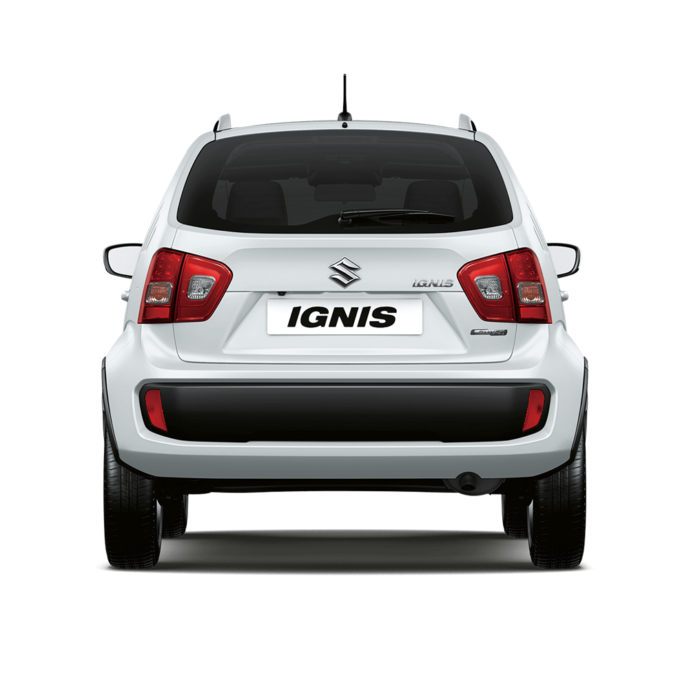 The Ignis SZ-T in Pure White Pearl