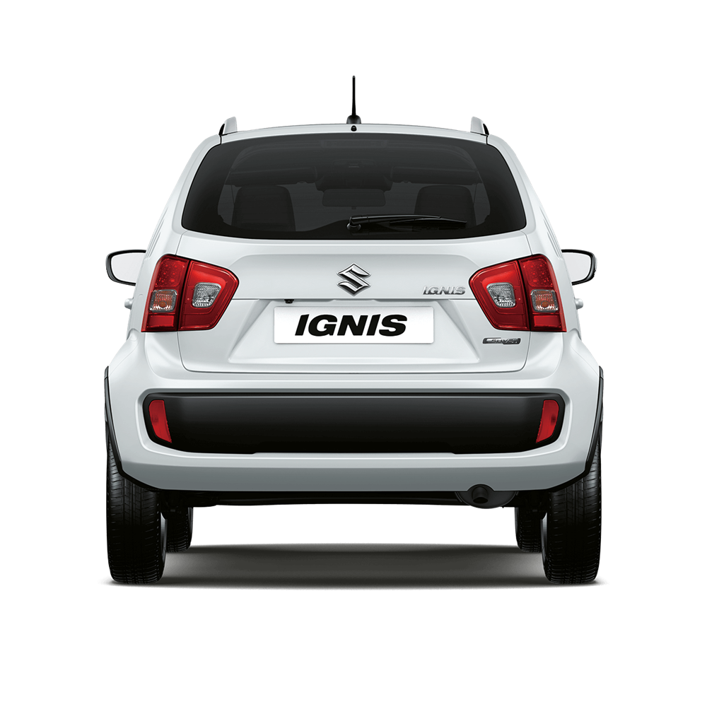 The Ignis SZ5 in Pure White Pearl